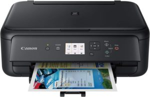 Canon TS5120 Wireless All-In-One Printer with Scanner and Copier Mobile and Tablet Printing, with Airprint(TM) and Google Cloud Print compatible, Black