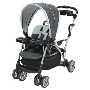 Graco Room For2 Best Stand and Sit Stroller, Double Stroller, Gotham