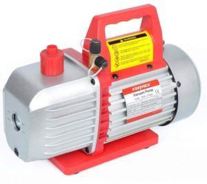 Kozyvacu 5CFM 2-Stage Rotary Vane Vacuum Pump (5.0CFM, 40Micron, 1 2HP) for HVAC Auto…