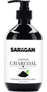 Saragan Pure Activated Charcoal Shampoo