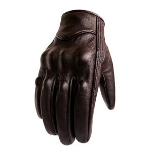 Hard Knuckle Armored Riding Gloves by Superbike