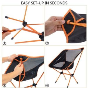 Sportneer Best Camping Chair and Foldable Chair
