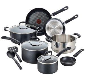T-fal Cookware Pots and Pans Set