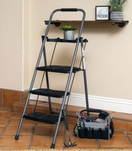 Best Step Ladder with Folding Step Stool Ladder
