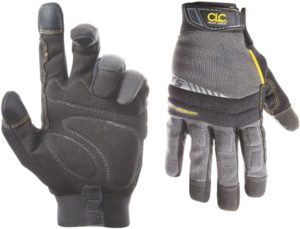 CLC Custom Leathercraft 125L Handyman Flex Grip Work Gloves, Shrink Resistant, Improved Dexterity, Tough, Stretchable, Excellent Grip