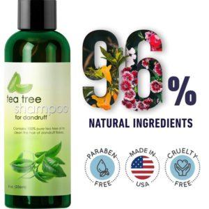 Dandruff Shampoo with Tea Tree Oil