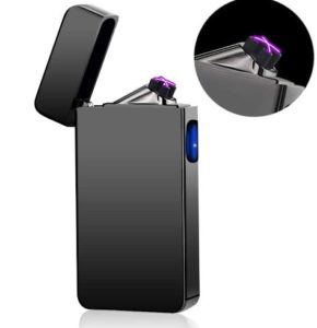 Dual Arc Plasma Lighter USB Rechargeable Windproof