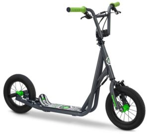 Mongoose Expo Scooter – Off Road Scooter with 12 Inches Inflatable Wheels
