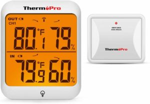 ThermoPro TP63A Waterproof Indoor Outdoor Thermometer Digital Wireless Hygrometer Humidity Gauge Temperature Monitor…