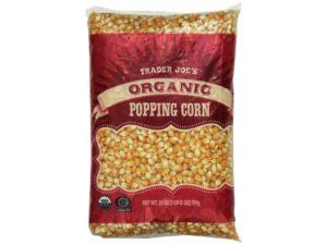Trader Joe's Organic Popping Corn 28oz (1lb 12oz ) 794g