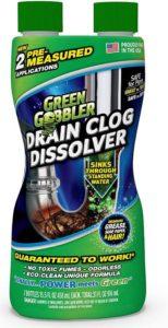 Green Gobbler Drain Clog Dissolver, Best Drain Cleaner, 31 oz