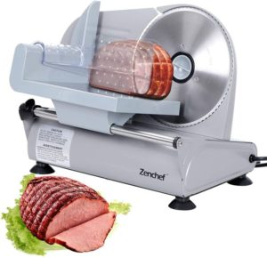 SUPER DEAL Premium Stainless Steel Electric Best Meat Slicer 7.5 inch Blade Home Kitchen Deli Meat Food Vegetable Cheese Cutter - Thickness Adjustable…