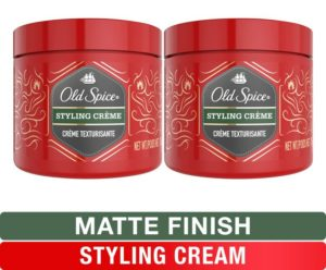 Old Spice, Styling Best Hair Cream for Men, Medium Hold Hair Treatment, 2.64 oz, Twin Pack