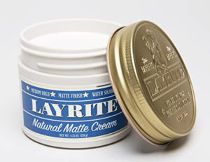 LAYRITE Natural Matte Cream, Best Hair Cream for Men (4.25oz)