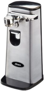 Oster Electric Can Opener, Stainless Steel