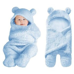 XMWEALTHY Cute Baby Swaddle Blanket
