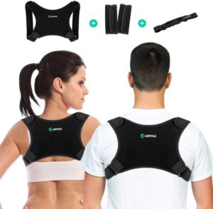 Posture Corrector for Men and Women, Adjustable Upper Back Brace Straightener, Invisible Posture Back Support - Providing Pain Relief…
