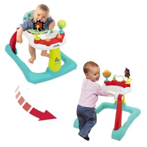 Kolcraft Baby Activity Walker, Seated or Walk Behind