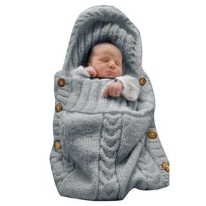 XMWEALTHY Baby Wrap Newborn Swaddle Blanket