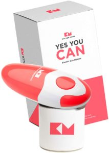 Kitchen Mama Electric Can Opener with Simple Push Button