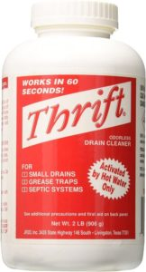 Thrift Marketing GIDDS-TY-0400879 Best Drain Cleaner 2 lb