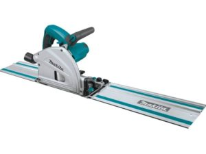 Makita Best Track Saw SP6000J1 6-1 2 In. Plunge Circular Saw Kit, with Stackable Tool Case and 55 In. Guide Rail