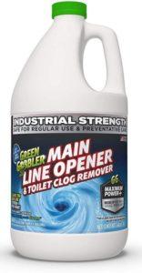 Green Gobbler Ultimate Main Drain Opener + Best Drain Cleaner + Hair Clog Remover - 64oz