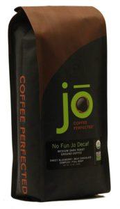 NO FUN JO DECAF Best Decaf, Coffee Organic Decaf Ground Coffee, Swiss Water Process, Fair Trade Certified, Medium Dark Roast, 100 Arabica Coffee, 12oz