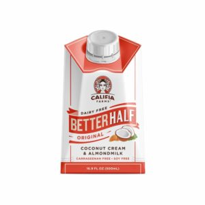 Califia Farms - Original Better Half Coffee Creamer, 16.9 Oz (Pack of 6), Half and Half, Coconut Cream and Almond Milk…