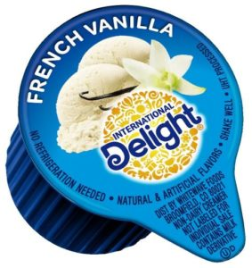 International Delight, French Vanilla, Single-Serve Coffee Creamers, 288 Count (Pack of 1)…