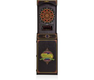 Arachnid Cricket Pro 650 Standing Best Electronic Dart Board with 24 Games, 132 Variations, and 6 Soft-Tip Darts Included