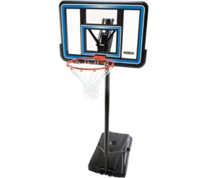 Lifetime 90023 Portable Backboard Basketball System, Best Portable Basketball Hoop, 44-Inch