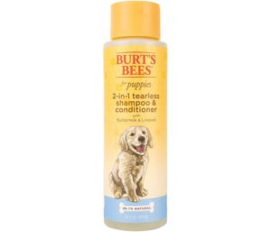 Burt's Best Shampoo for Puppies, 2 in 1 Conditioner Soothes and Softens Fur...