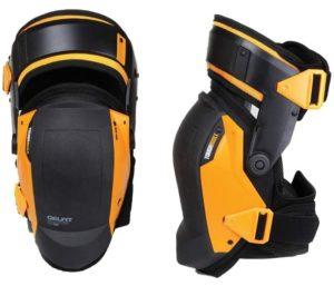 Toughbuilt KP-G3 Gelfit Thigh Support Stabilization Best Knee Pads - Ergonomic Fit