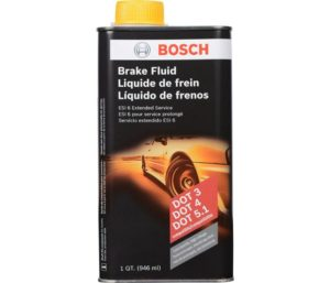 Bosch ESI6-32N Best Brake Fluid (Direct Replacement for DOT 3, DOT 4, and DOT 5.1)