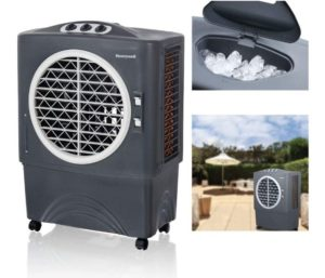 Honeywell CO48PM Best Evaporative Cooler For Indoor & Outdoor Use, 1062 CFM - 10.6 Gallon Tank