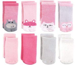 Luvable Friends Unisex Best Baby Socks Set, 8-Pairs per Pack