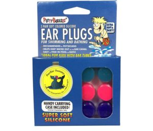 Putty Buddies Original Best Earplugs for Swimming - The Best Swimming Ear Plugs - Block Water - Super Soft - Comfortable - Great for Kids - 3-Pair Pack