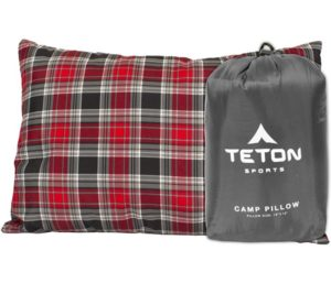 TETON Sports Camp Pillow; Great for Travel, Backpacking; Washable