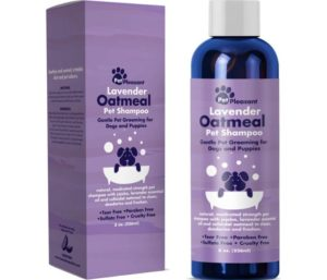 Best Shampoo for Puppies with Lavender Essential Oil Wash - Odor Eliminator for Grooming Itch Relief