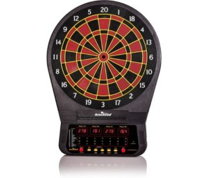 Arachnid Cricket Pro Tournament-quality Electronic Dartboard with Micro-thin Segment Dividers for Dramatically Reduced Bounce-outs and NylonTough Segments…