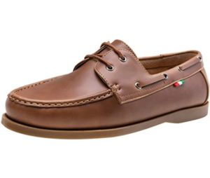 Men's Boat Shoes Handsewn Loafers Casual Slip On Driving Shoes