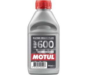 Motul MTL100949 8068HL RBF 600 Factory Line Dot-4 100 Percent Synthetic Racing Brake Fluid-500, 300. ml
