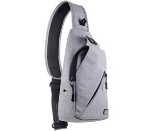 Peak Gear Sling Compact Crossbody Backpack and Day Bag - w Lifetime Lost & Found ID