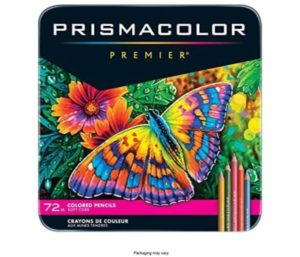 Prismacolor Premier Best Watercolor Pencils, Soft Core, 72 Pack