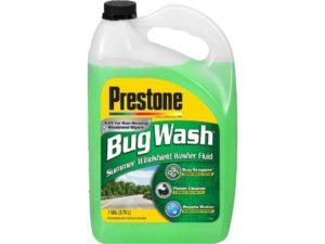 Prestone AS657 Bug Wash, Best Windshield Washer Fluid, 128 Ounces (1 Gallon)