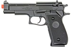 BBTac Best Airsoft Pistol BT-M22 Spring Loaded Gun Airsoft Handgun, High Power 300 FPS