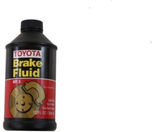 Genuine Toyota Fluid 00475-1BF03 Brake Fluid - 12 oz
