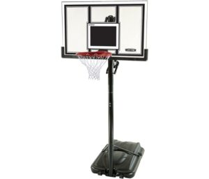 Lifetime Adjustable Best Portable Basketball Hoop (54-Inch Polycarbonate)