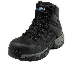 MICHELIN Men's Hydroedge Puncture Resistant Best Waterproof Work Boots Steel Toe - Xhy866
